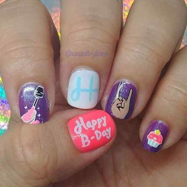 diseño de uñas para niñas