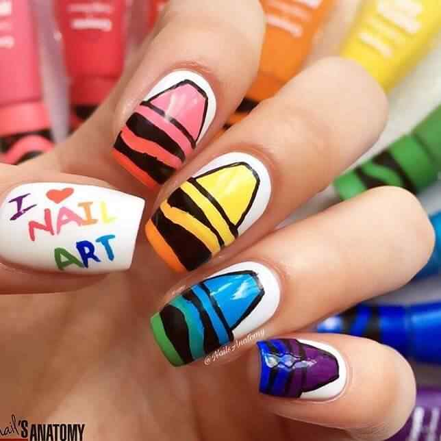 nail art para niñas