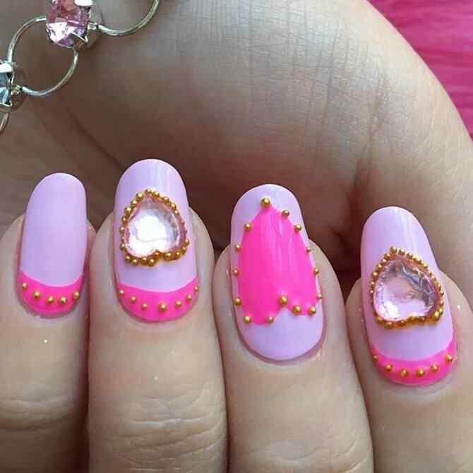 uñas de princesa