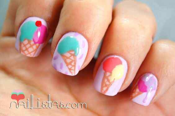 uñas icecream
