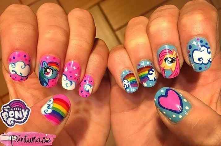 uñas my little pony