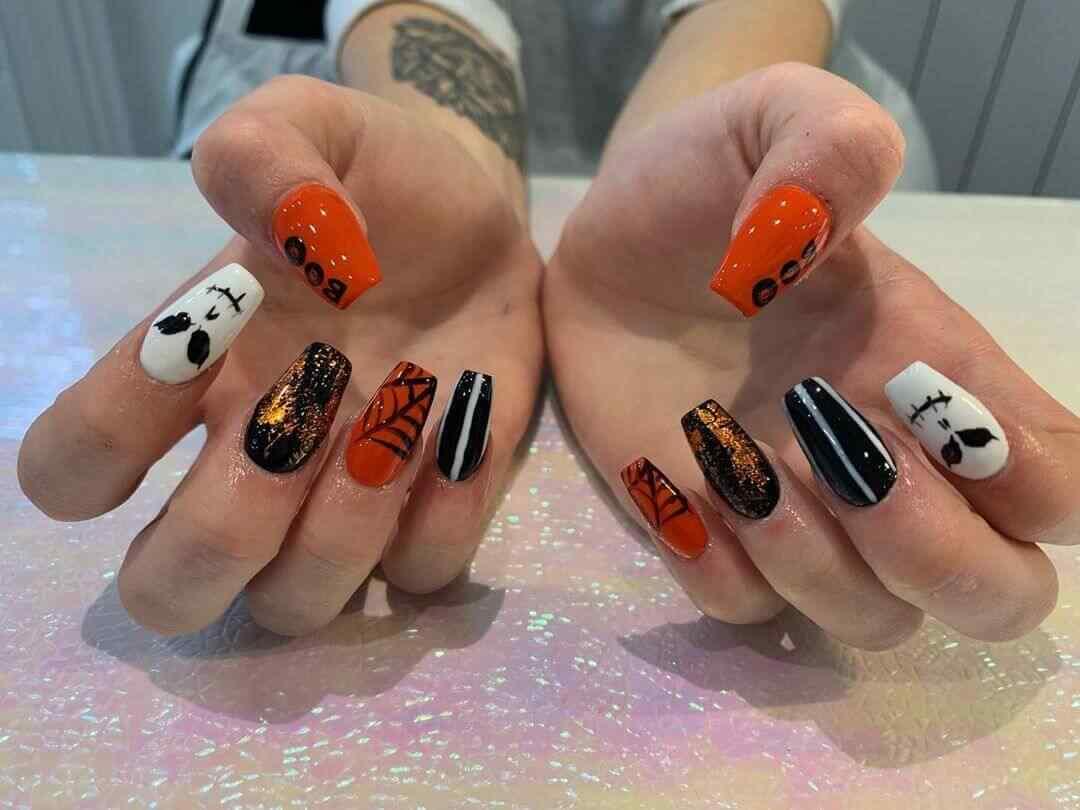 decoracion de uñas para halloween
