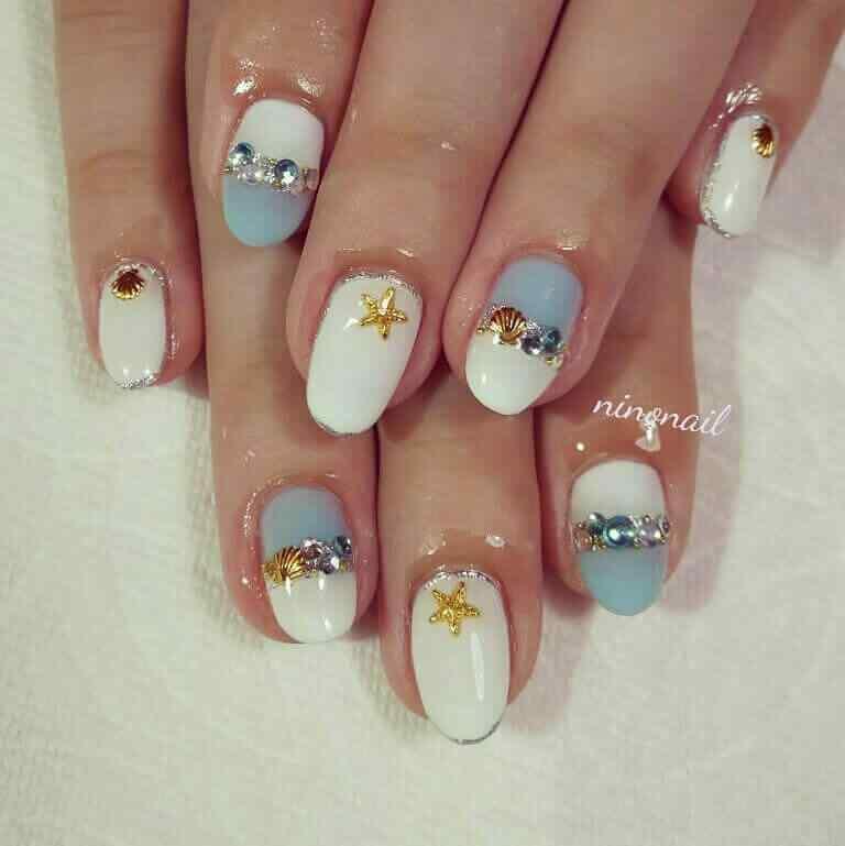 diseño de uñas faciles con pegatinas