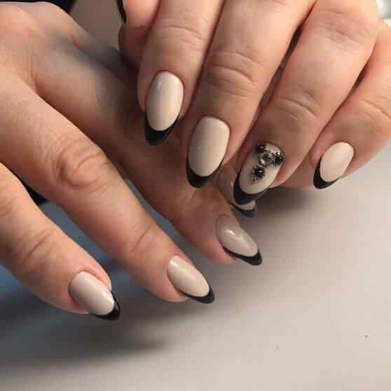 diseño de uñas francesas faciles