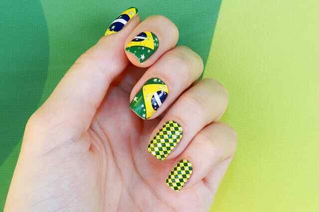 brasil nail art