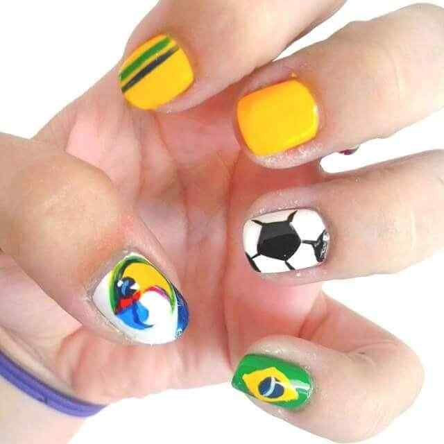 decoracion para uñas brasil