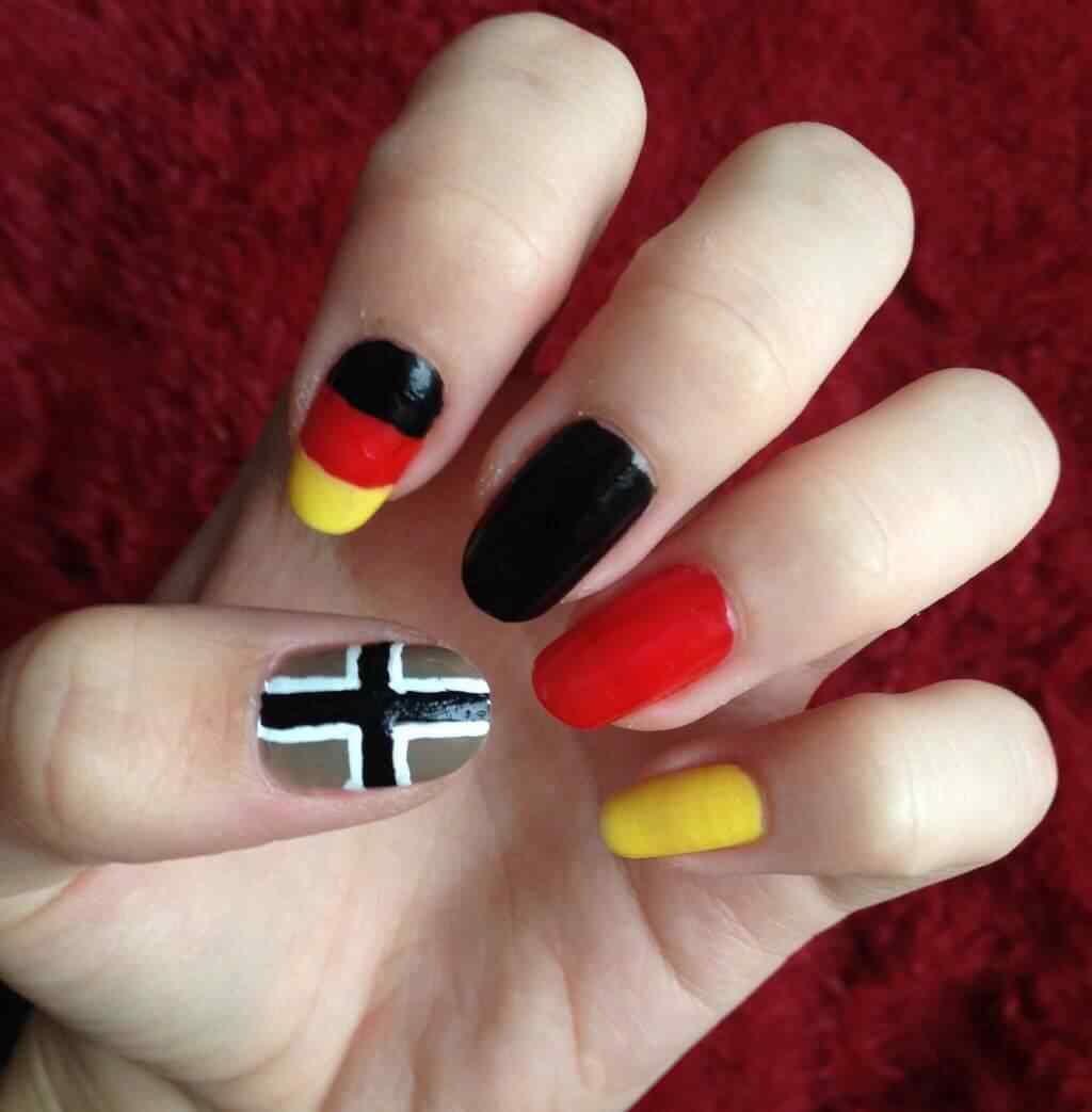 uñas decoradas colores de alemania