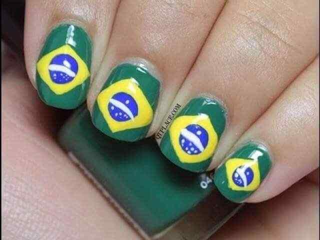 uñas decoradas de brasil