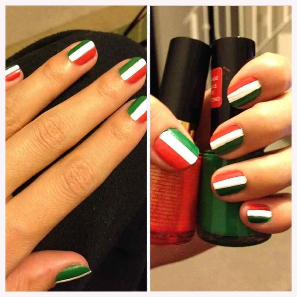 uñas decoradas italia colores
