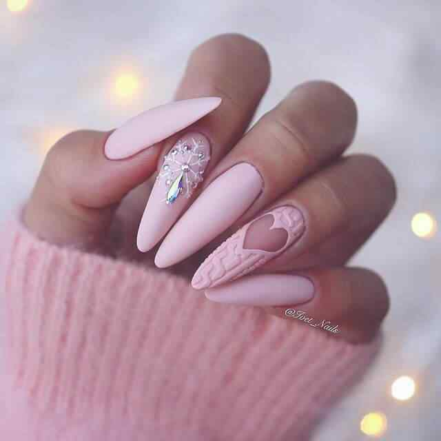 decorated porcelain nails