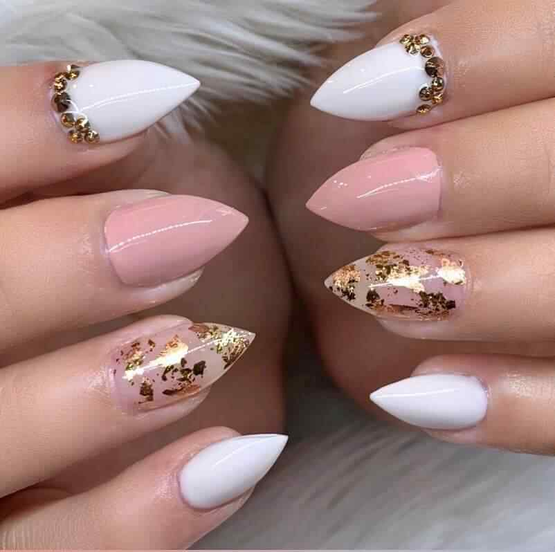 Elegant nail decoration