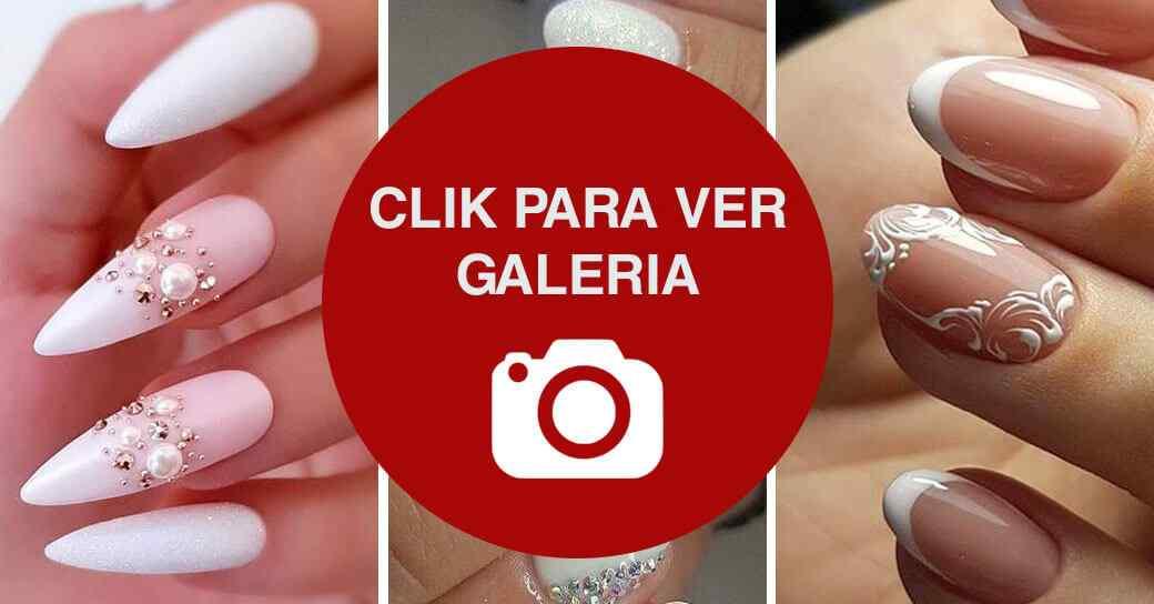 Uñas para boda o novias galeria