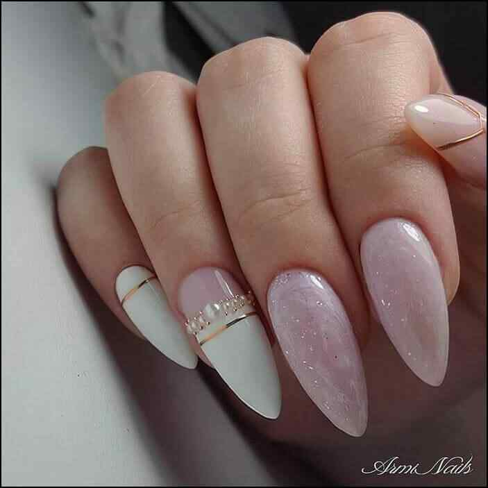 Elegant nails for parties