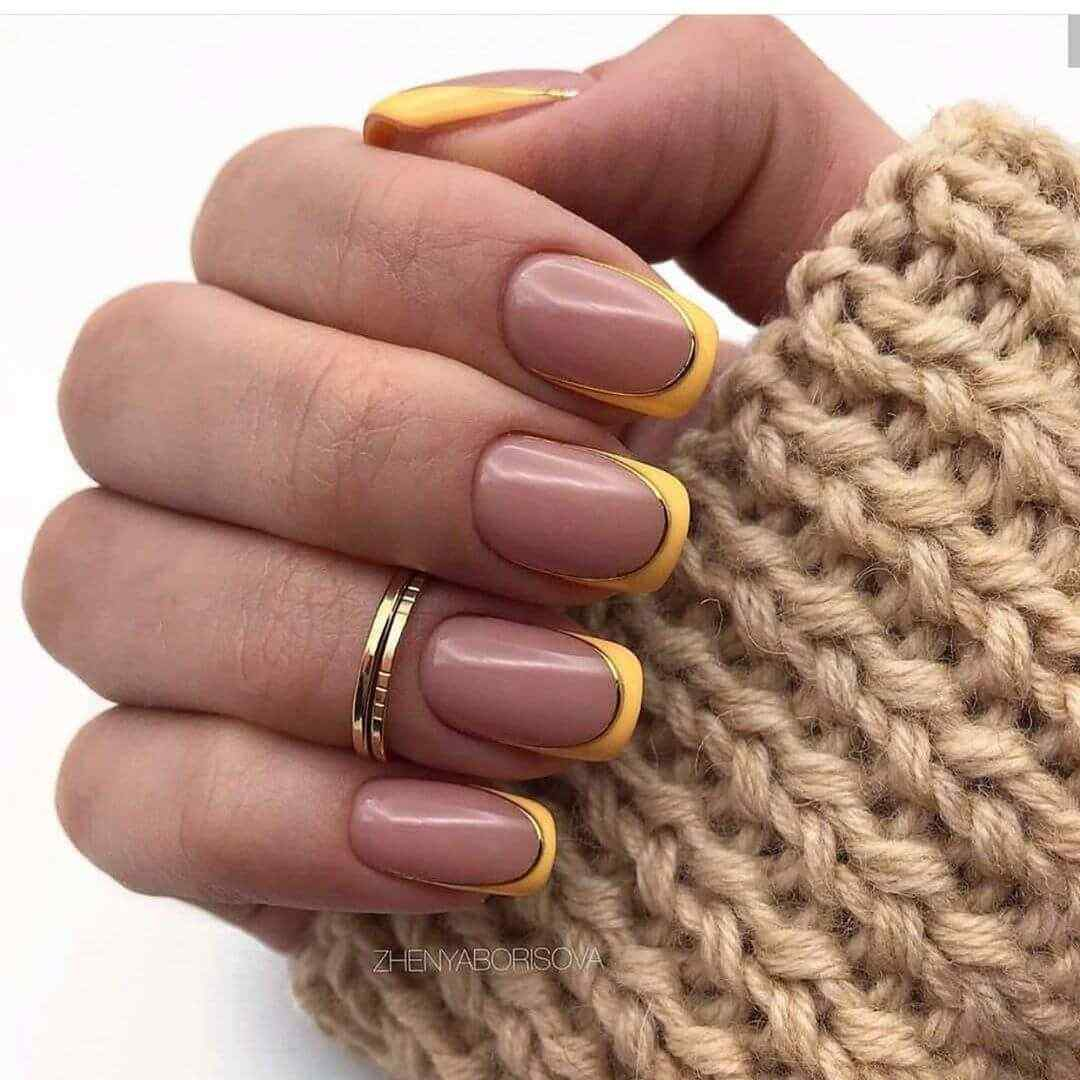 French colored nails