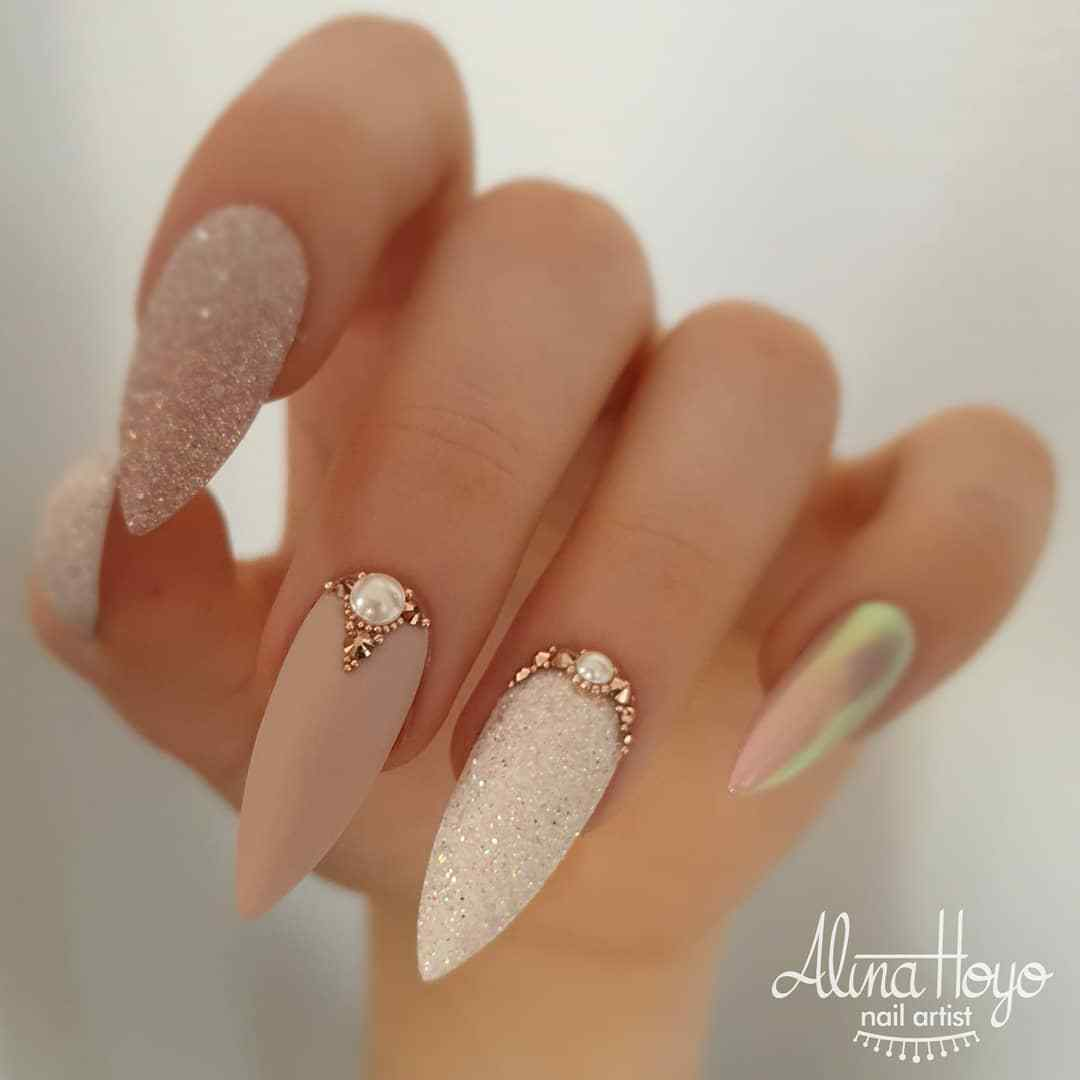Long elegant nails