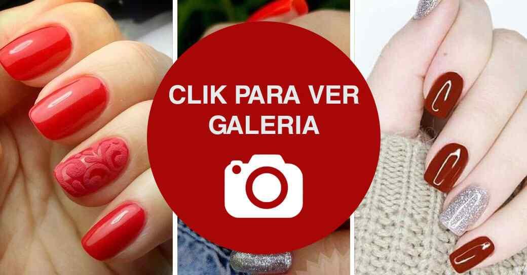 Uñas rojas galeria de imagenes