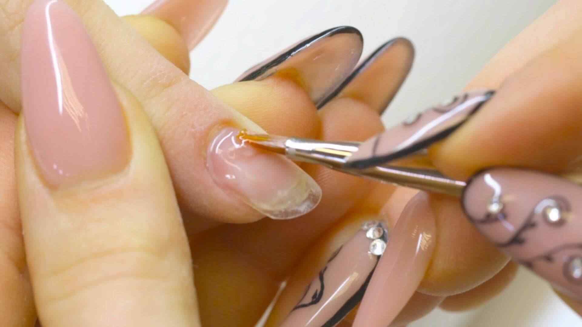 Mantenimiento - relleno de uñas acrílicas