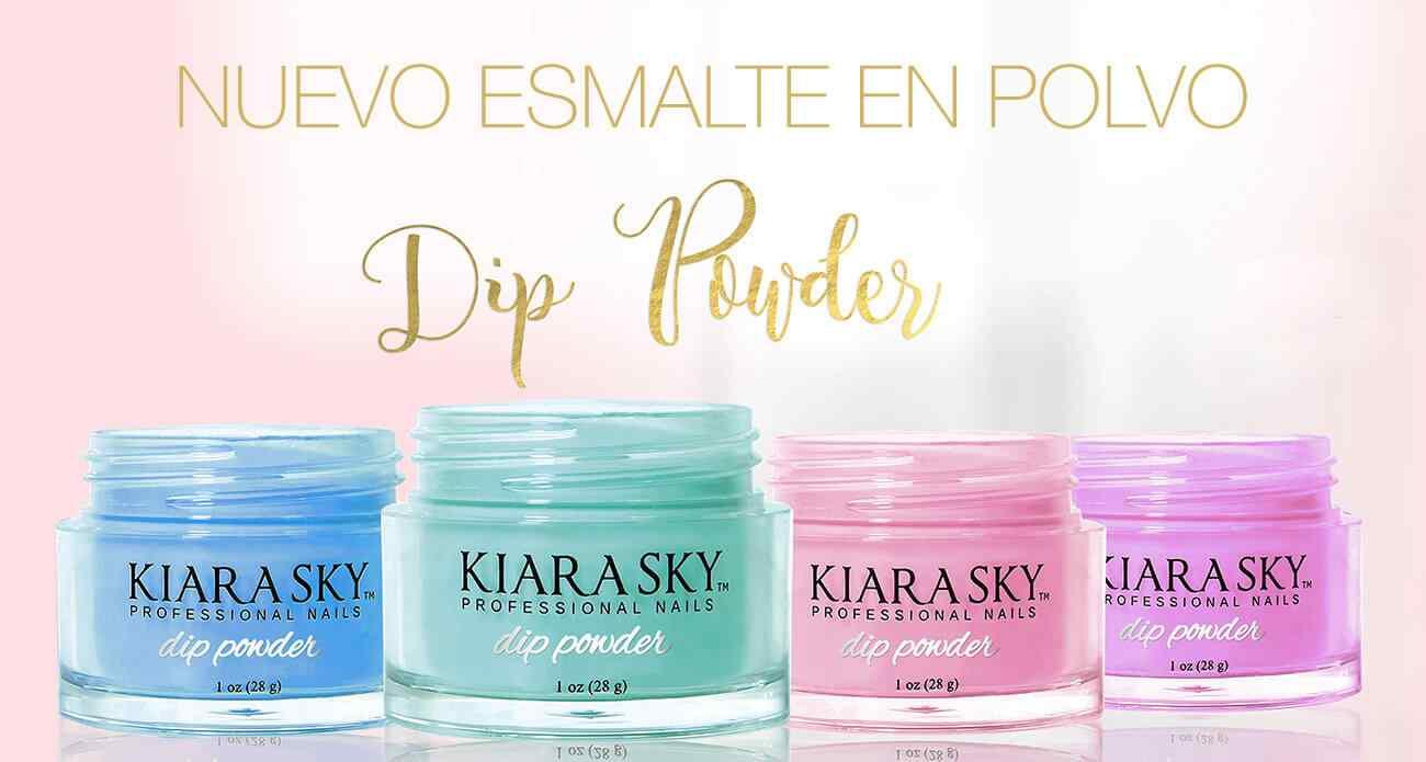 Nuevo esmalte en polvo semipermanente o dip powder